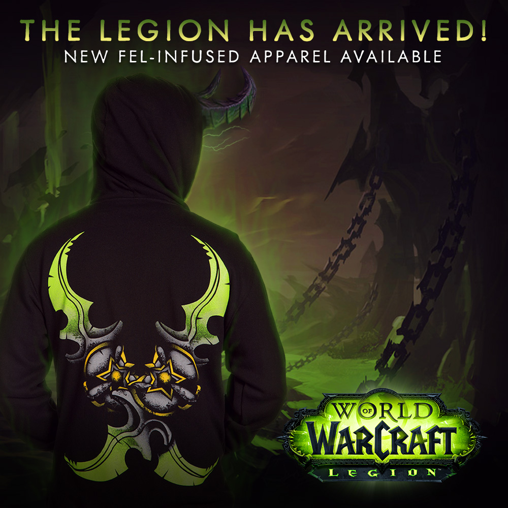 new world of warcraft apparel and accessories released by j nx alycat geekery. Black Bedroom Furniture Sets. Home Design Ideas